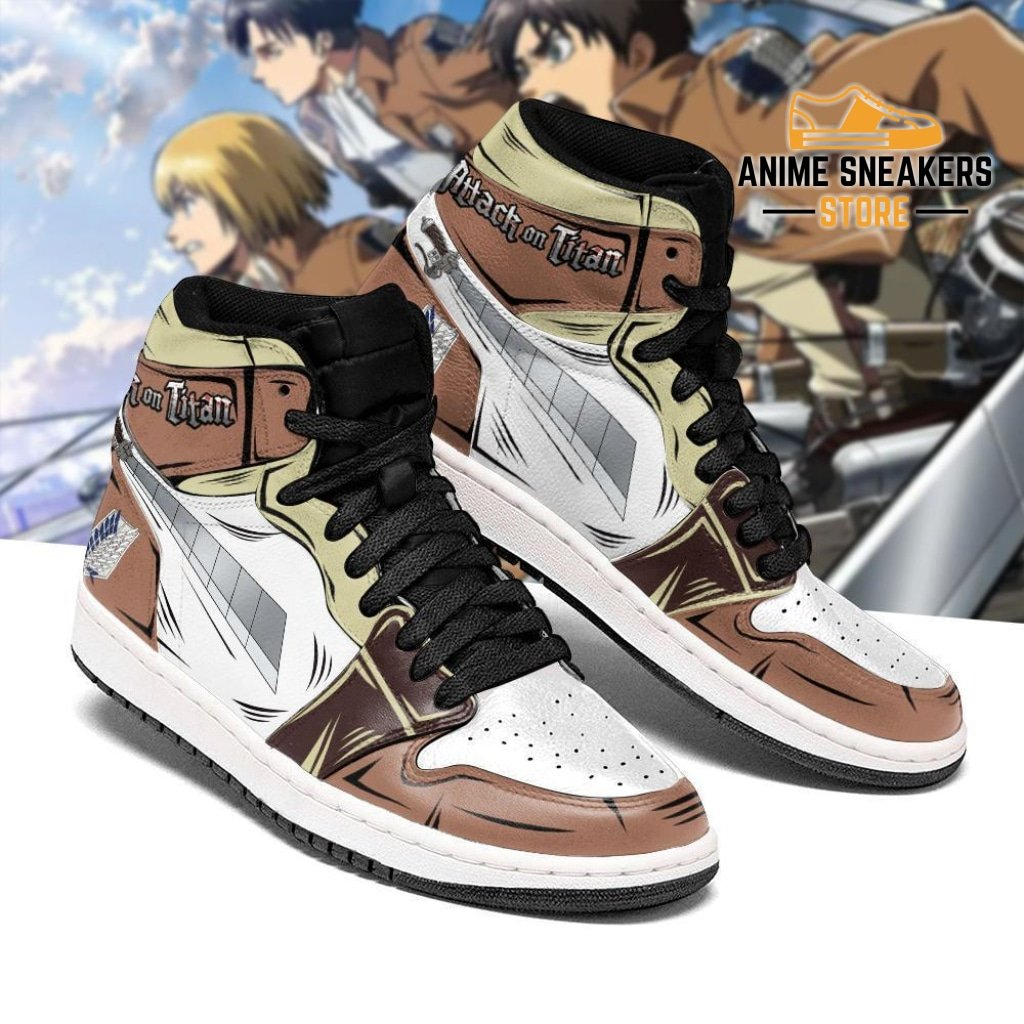Attack On Titan Sword Sneakers AOT Anime Sneakers