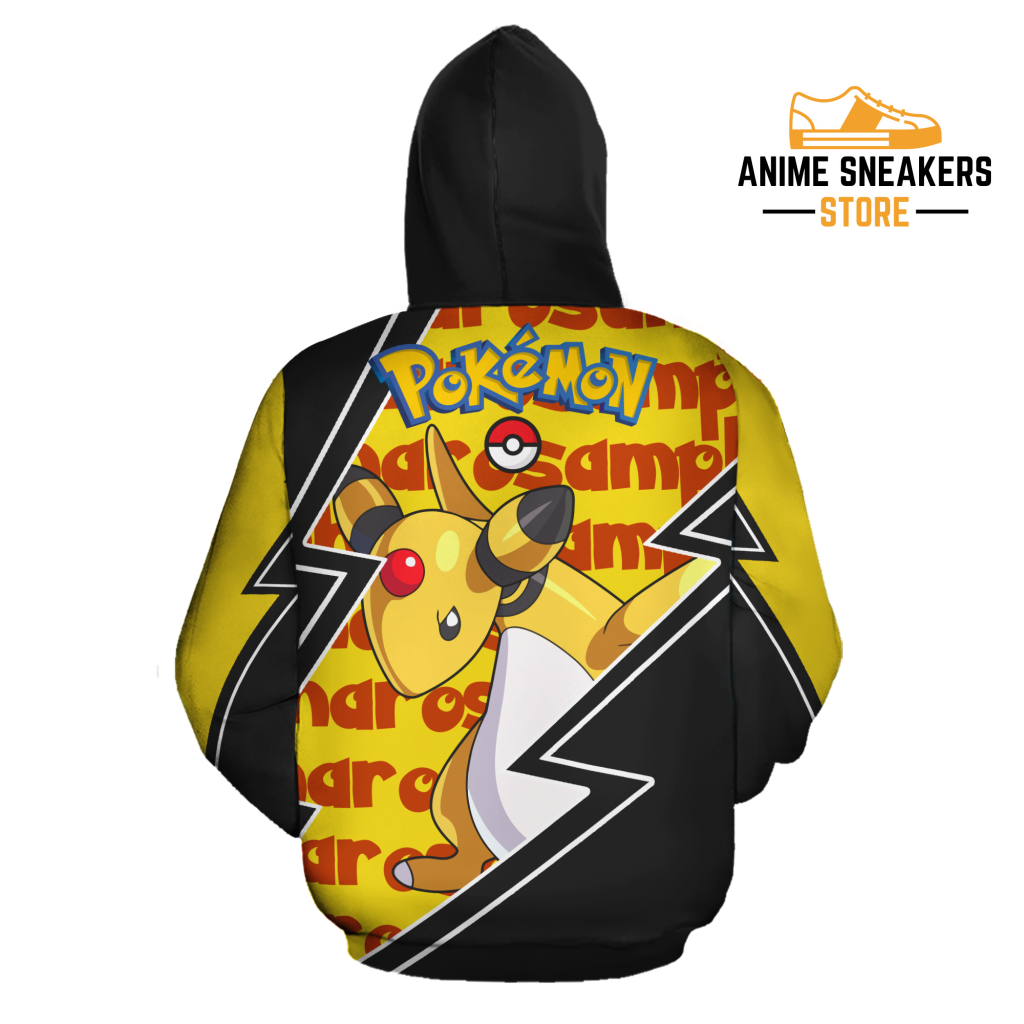 Ampharos Zip Hoodie Costume Pokemon Shirt Fan Gift Idea Va06 All Over Printed Shirts