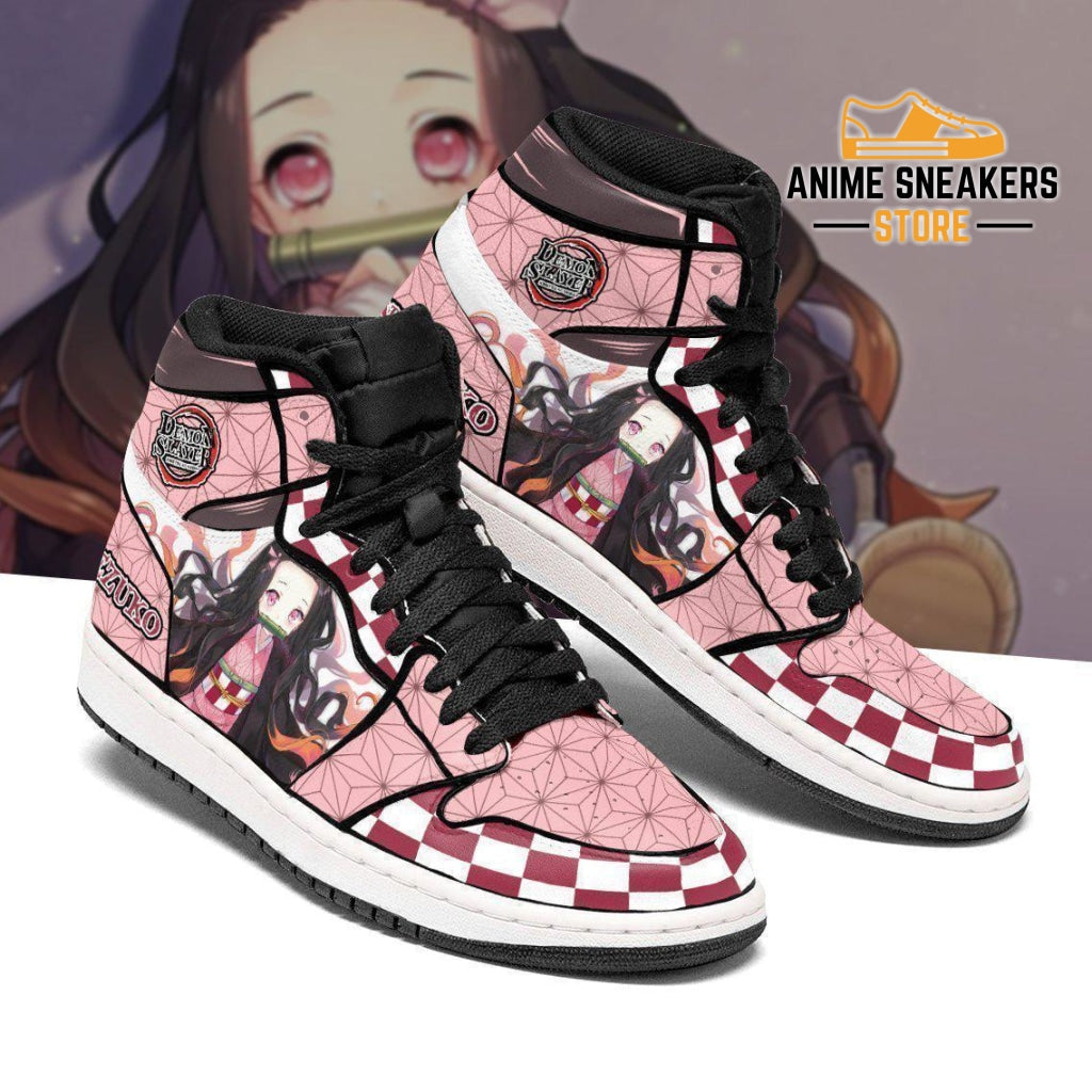 Nezuko Sneakers Costume Demon Slayer Anime Shoes Mn04 Jd