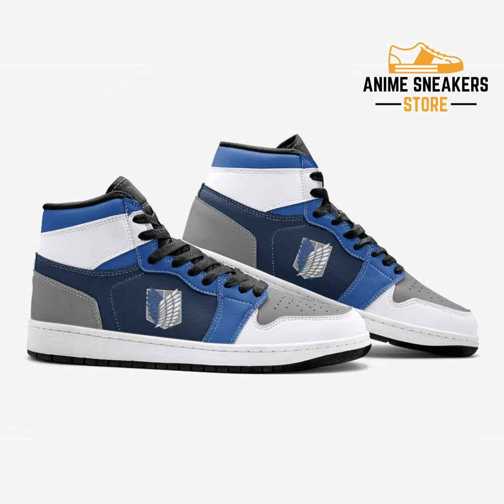 The Survey Corps Attack On Titan Custom J-Force Shoes Mens