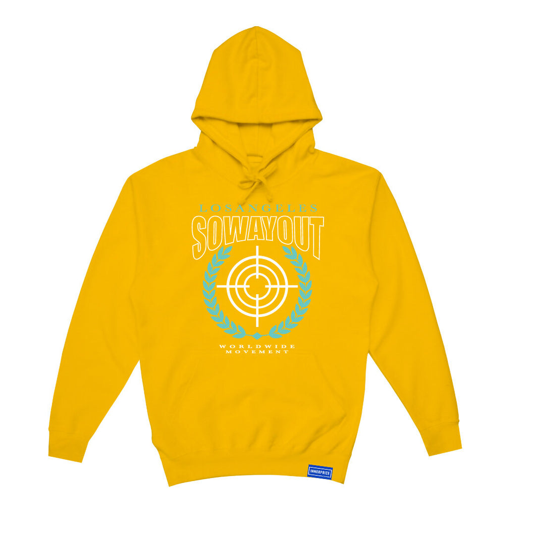 "SWO ""On Target"" Hoodie in Yellow"