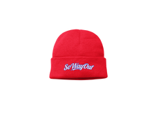 Load image into Gallery viewer, Players Beanie - red