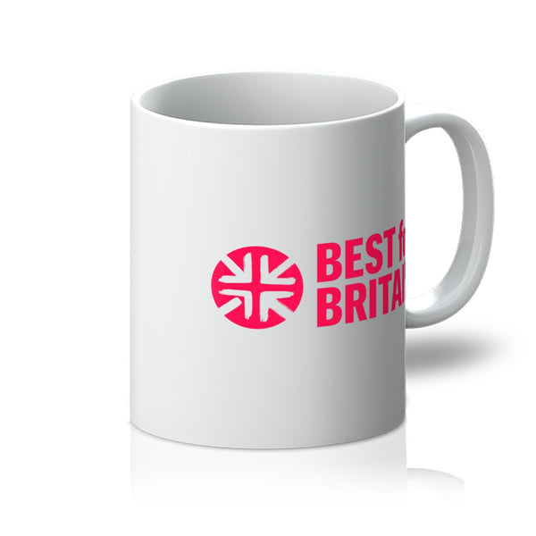 Cerise Best for Britain Logo Mug