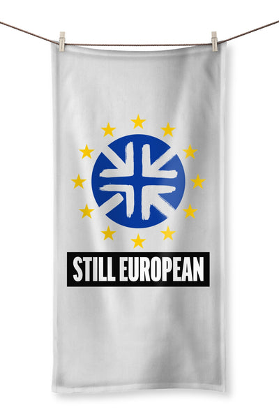 'Still European' Towel