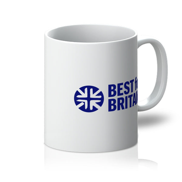 Navy Best for Britain Logo Mug