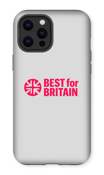 Cerise Best for Britain Logo Phone Case
