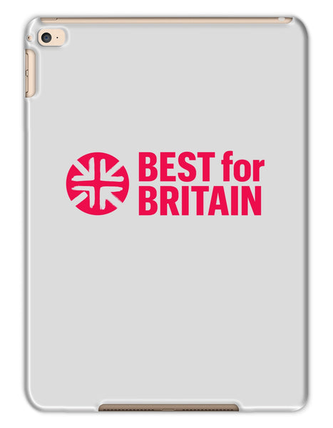 Cerise Best for Britain Logo Tablet Cases