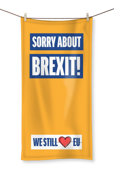 'Sorry about Brexit' Towel