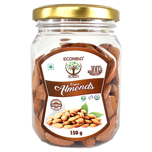 ECONBIO ROOTS Certified Organic Almonds 150g | Organically Grown