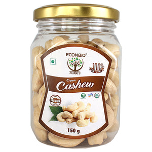 ECONBIO ROOTS Certified Organic Cashews ( KAJU) 150g | Organically Grown