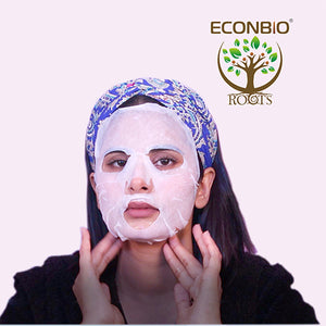 ECONBIO ROOTS Labute Pink Rose & Vitamin Facial Mask (Pack of 2)