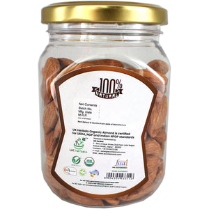 ECONBIO ROOTS Certified Organic Almonds 150g & Raw Pumpkin Seeds 200g