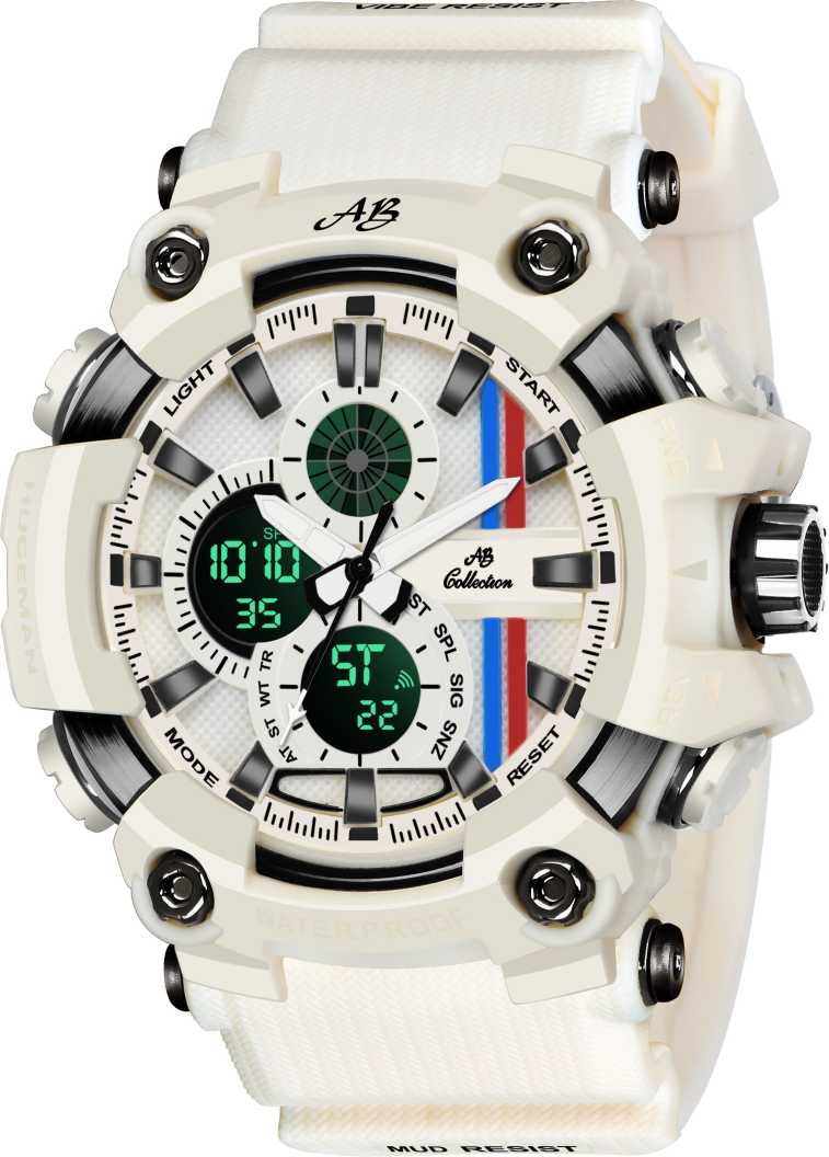 WHITEE MODEL G-Style SSHOCK Analog-Digital Watch - For Men