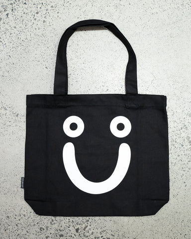 Polar Happy Sad Tote Bag | Black
