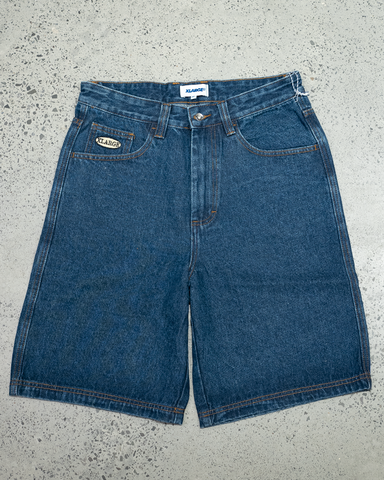X-Large Baggie Denim Short | Blue