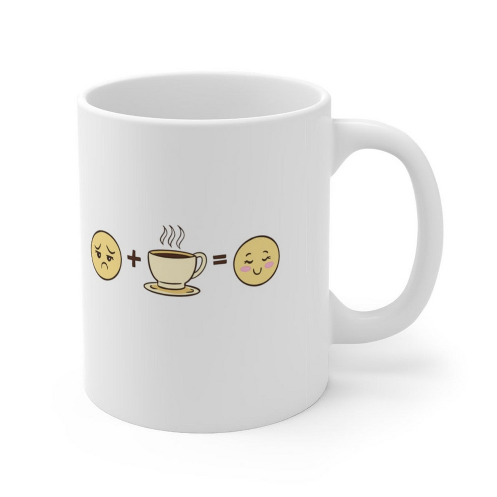 Coffee Makes Me Happy Mug