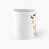 Smile please milk mocha coffee mug