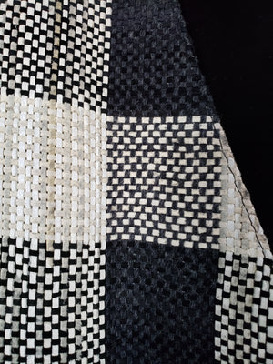 Mario Valentino - Black & White (Suede check, jacket & vest)