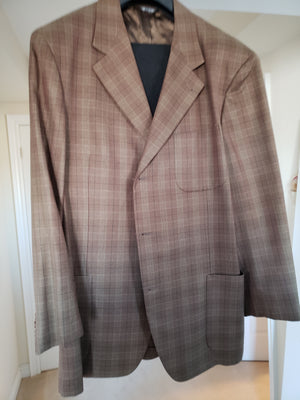 Men's Zanella Checked Blazer (Wool & Silk)