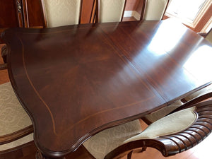 """Stanley Furniture"" Dining Table + 8 Chairs"
