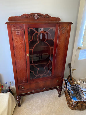 Antique Hutch/China Cabinet