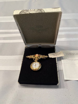 1928 Timepieces Watch Brooch
