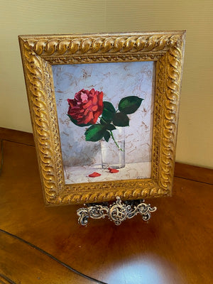 "Original Oil on Canvas- ""Roses"" by Tania"