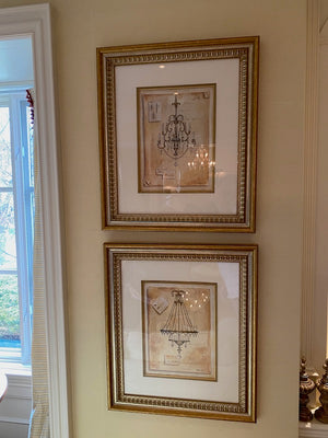 Pair of Kathryn White Framed Prints