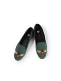 Womens Bee - Sage Needlepoint Loafer 5