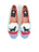 Womens Black Lab Canoe Needlepoint Loafer