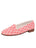Womens Coral Diamond Pattern Needlepoint Loafer