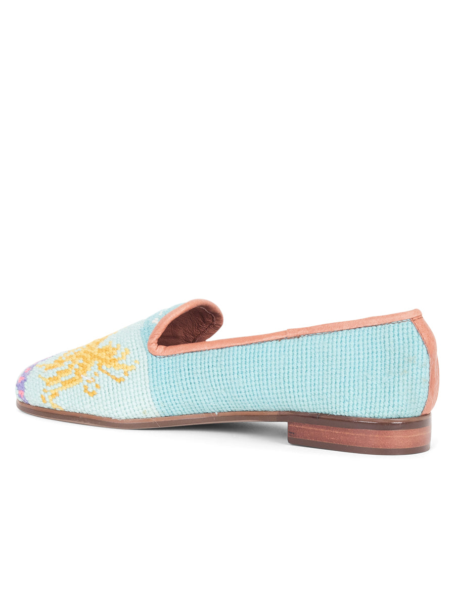 Womens Mermaid Needlepoint Loafer 2