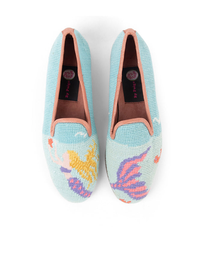 Womens Mermaid Needlepoint Loafer