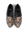 Womens Snake skin Needlepoint Loafer