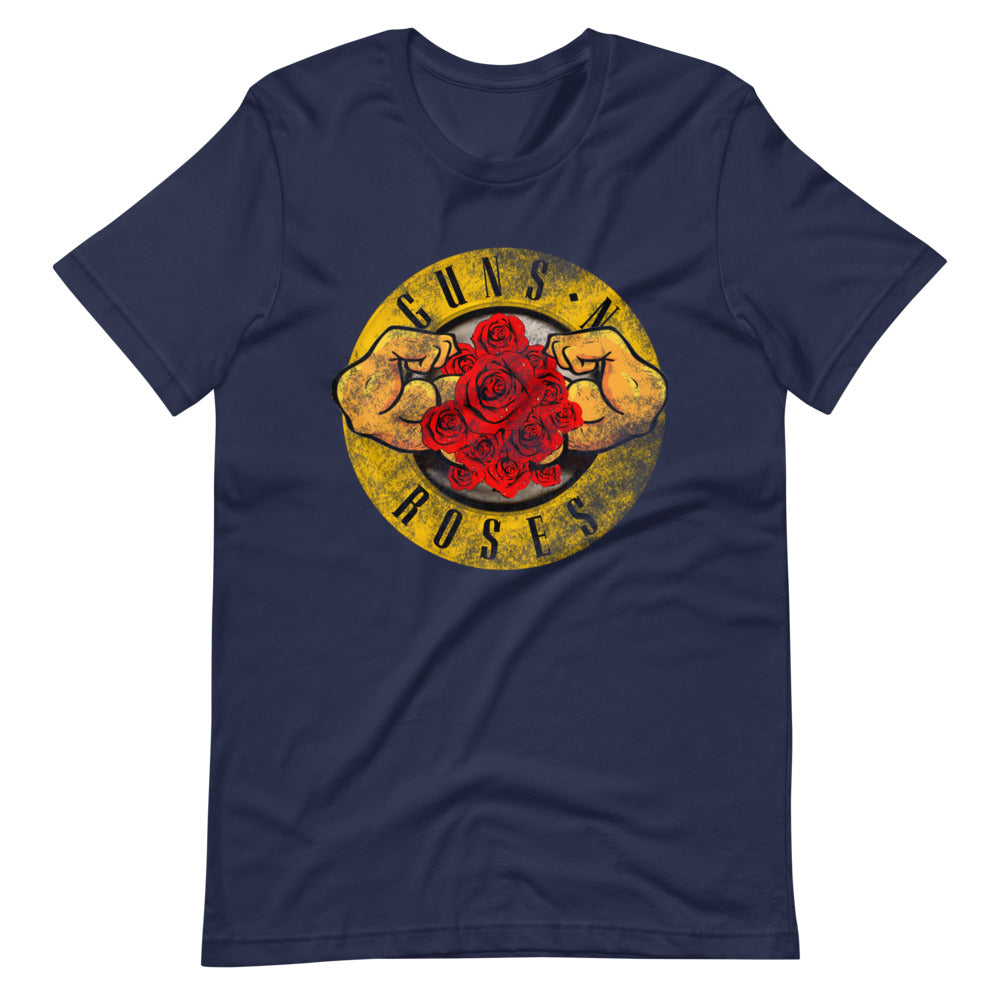Short-Sleeve MUSCLES N ROSES Unisex T-Shirt
