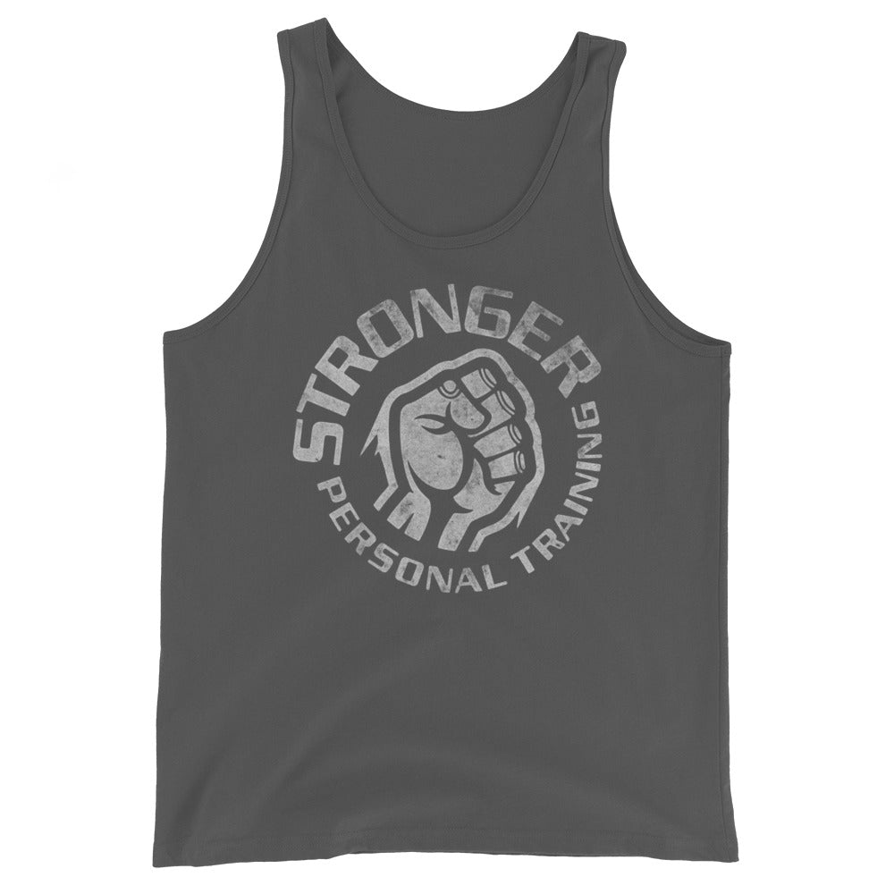 Faded Basic Unisex Tank Top