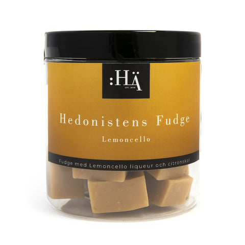 Fudge med lemoncello och citronskal 140G