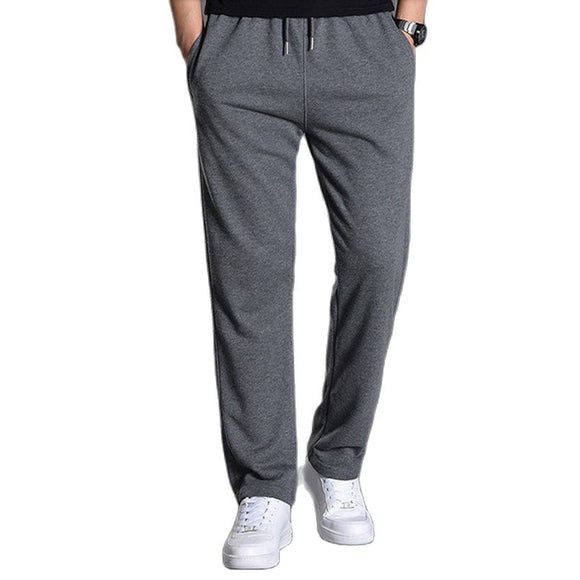 2021 Spring Men's Knitted Cotton Sports Pant Male Trousers Casual Joggers Streetwear Jogging Sweatpants Sportswear Man Clothing