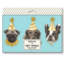 Load image into Gallery viewer, Party Dog Banner 6ft