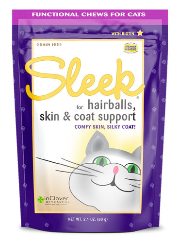 InClover Sleek Hairball Support 2.1oz