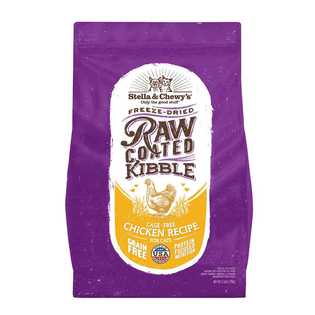 Stella CAT Raw Coated Chicken 2.5lb