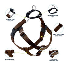 Load image into Gallery viewer, 2 Hound Design Freedom Harness Brown