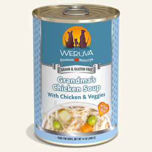 Weruva Dog Grandma Chicken Soup 14oz