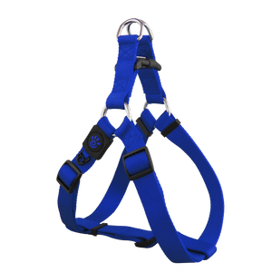 Doco Nylon Step in Harness Blue
