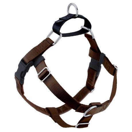 2 Hound Design Freedom Harness Brown