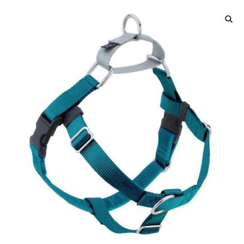 2 Hound Design Freedom Harness Teal