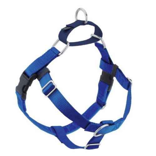 2 Hound Design Freedom Harness Blue