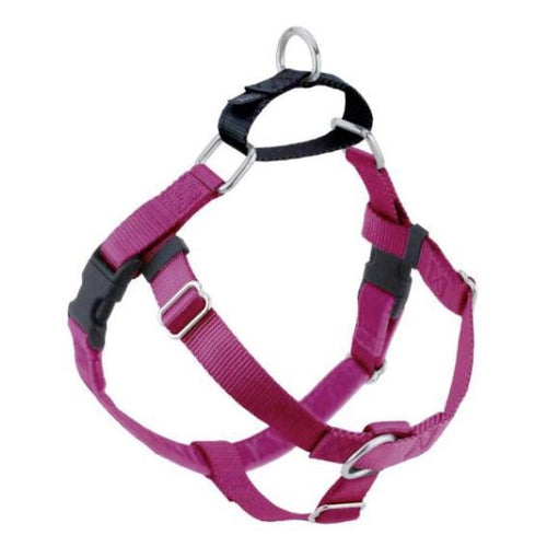 2 Hound Design Freedom Harness Raspberry