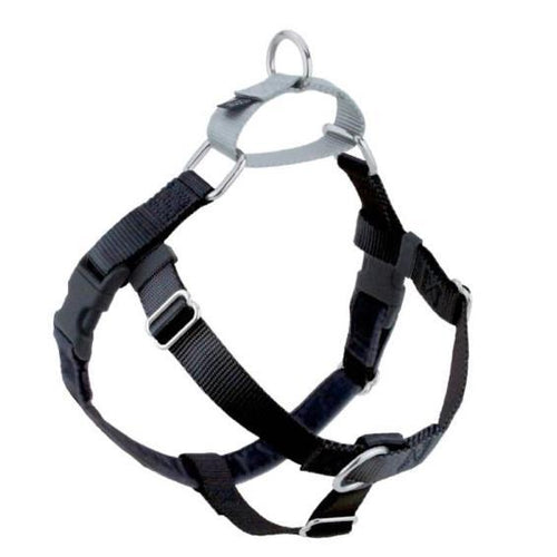 2 Hound Design Freedom Harness Black