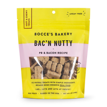 Load image into Gallery viewer, Bocces Soft Chewy Bacon Nutty 6oz